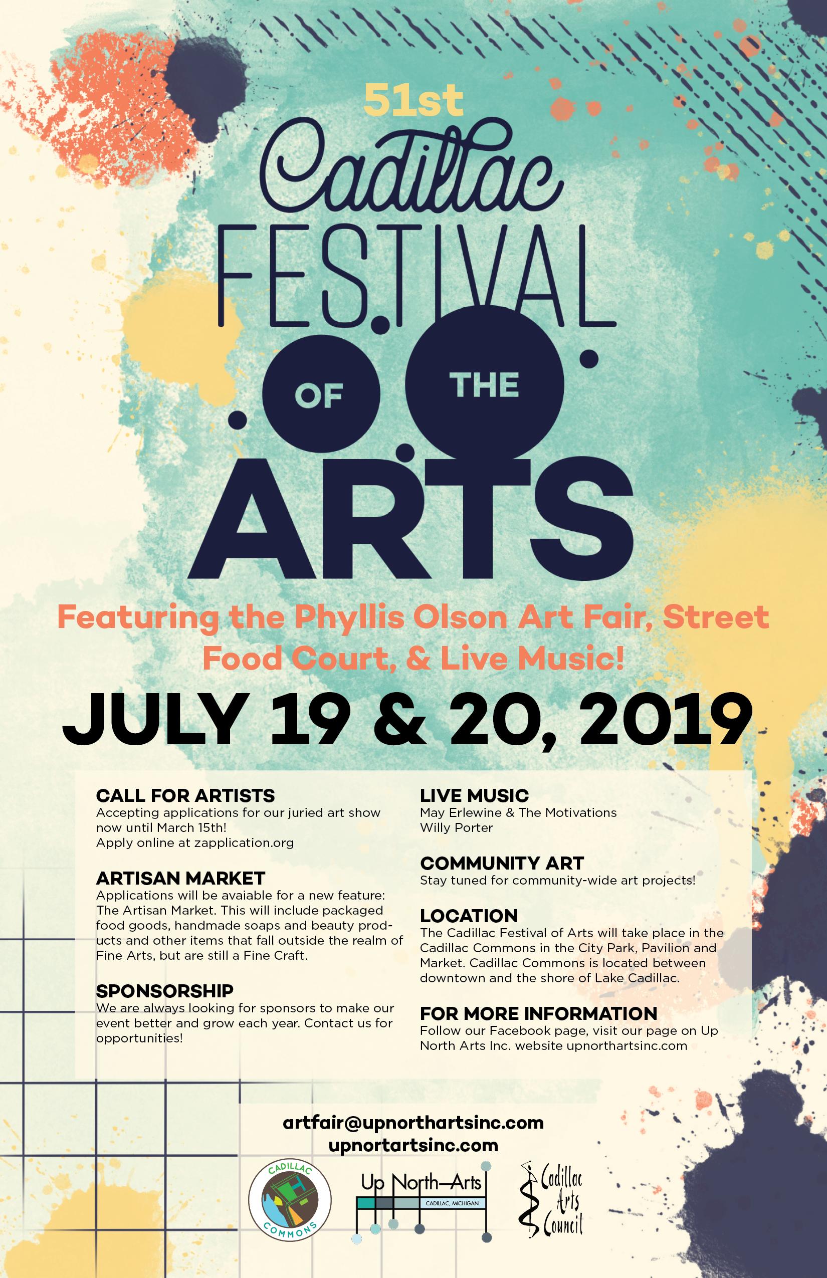 Art Fest Poster Up North Arts Inc